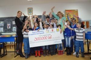 Lidl a strans 300.000 de lei pentru copii