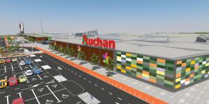 Auchan deschide cel mai mare hipermarket din Transilvania