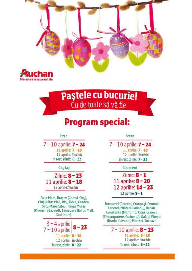Program special Paste Auchan