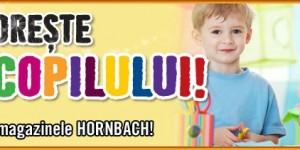 Copiii sunt meșteri pricepuți la Hornbach, de 1 iunie