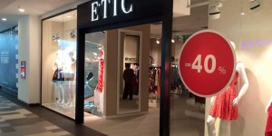 ETIC a redeschis magazinul din București Mall