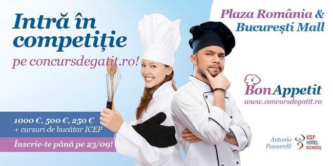 Cooking Show Plaza Romania Bucuresti Mall