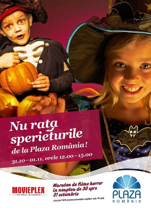 Halloween Plaza Romania