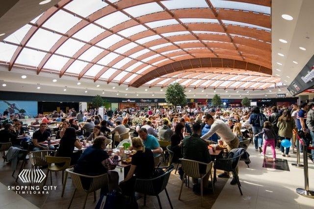 Shopping City Timisoara Food Court
