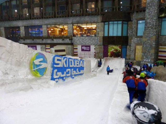 snow tubing mall