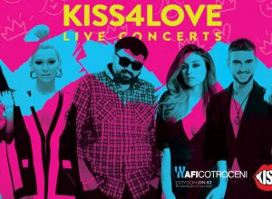 afi cotroceni kiss for love
