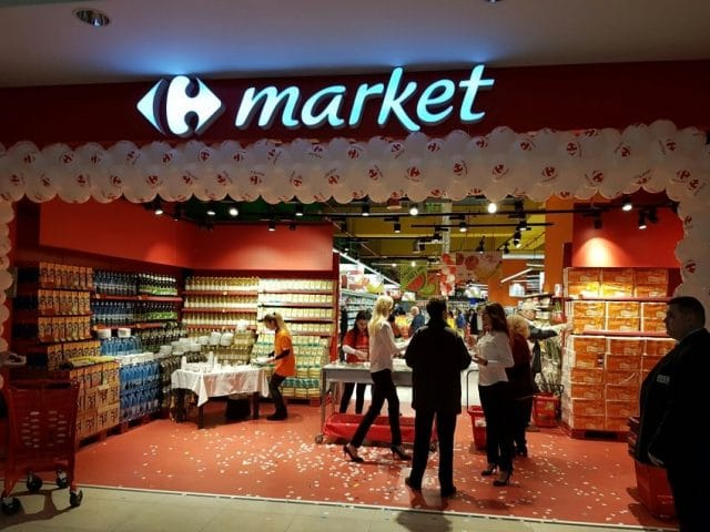 carrefour market billa liberty center