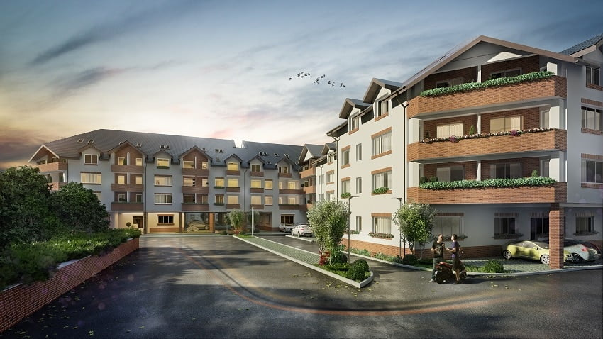 new residence drumul taberei