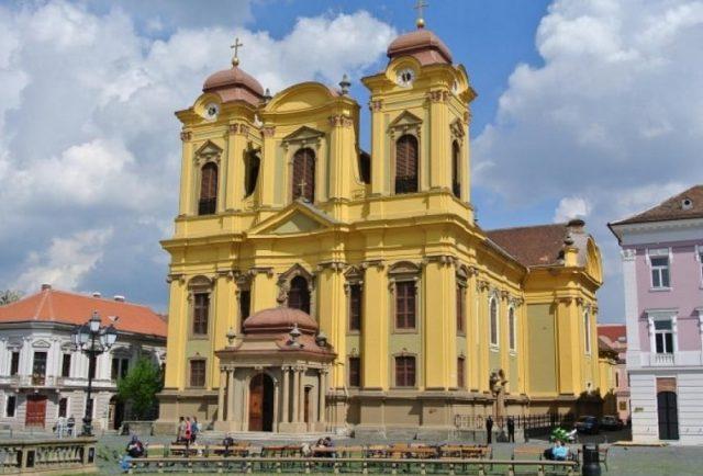 catedrala romano catolica timisoara