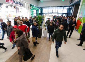 Trafic record Shopping City Galati