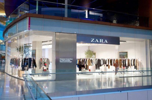 Zara pop-up store Stratford