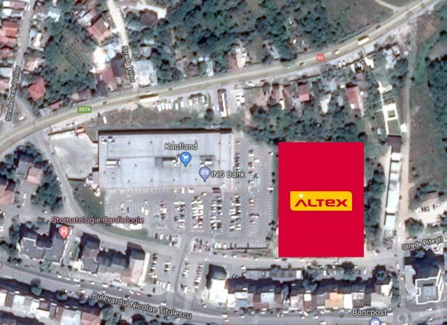 parcul comercial altex slatina