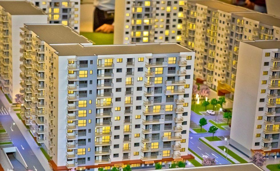 Macheta proiect imobiliar