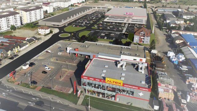 element development bistrita retail park