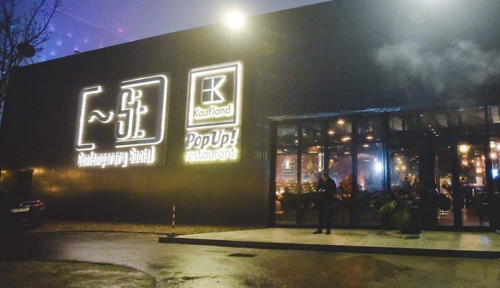 kaufland pop up restaurant