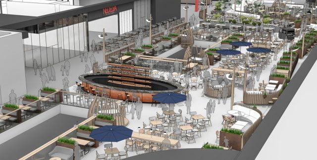 Mega Mall food court