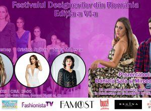 Afis festivalul designerilor din romania