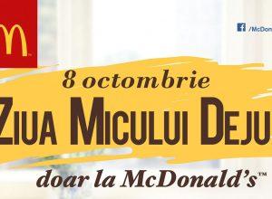 Ziua Micului Dejun la McDonald's