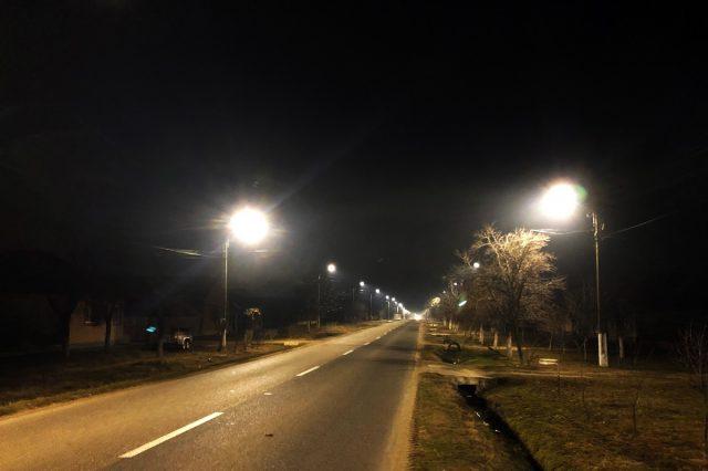 Smart Street Lighting Frumuseni