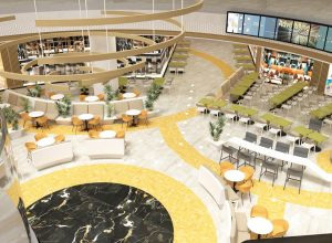 Food court Colosseum Mall