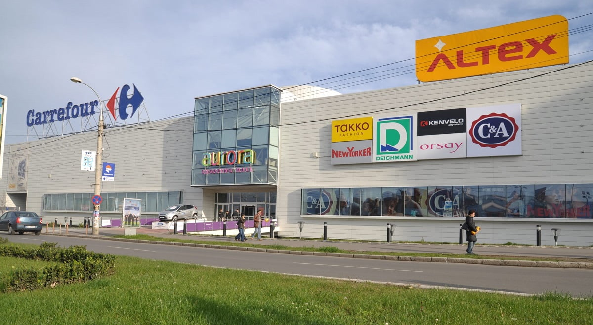 aurora shopping city buzau