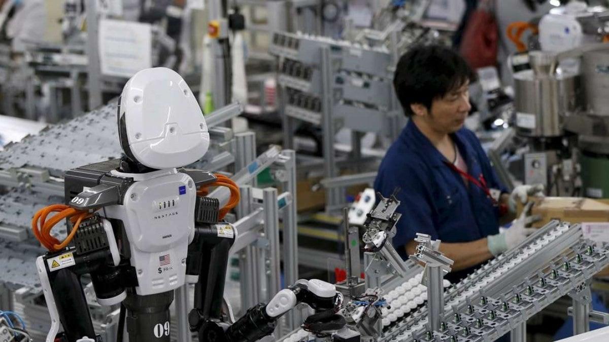 automation employee robot