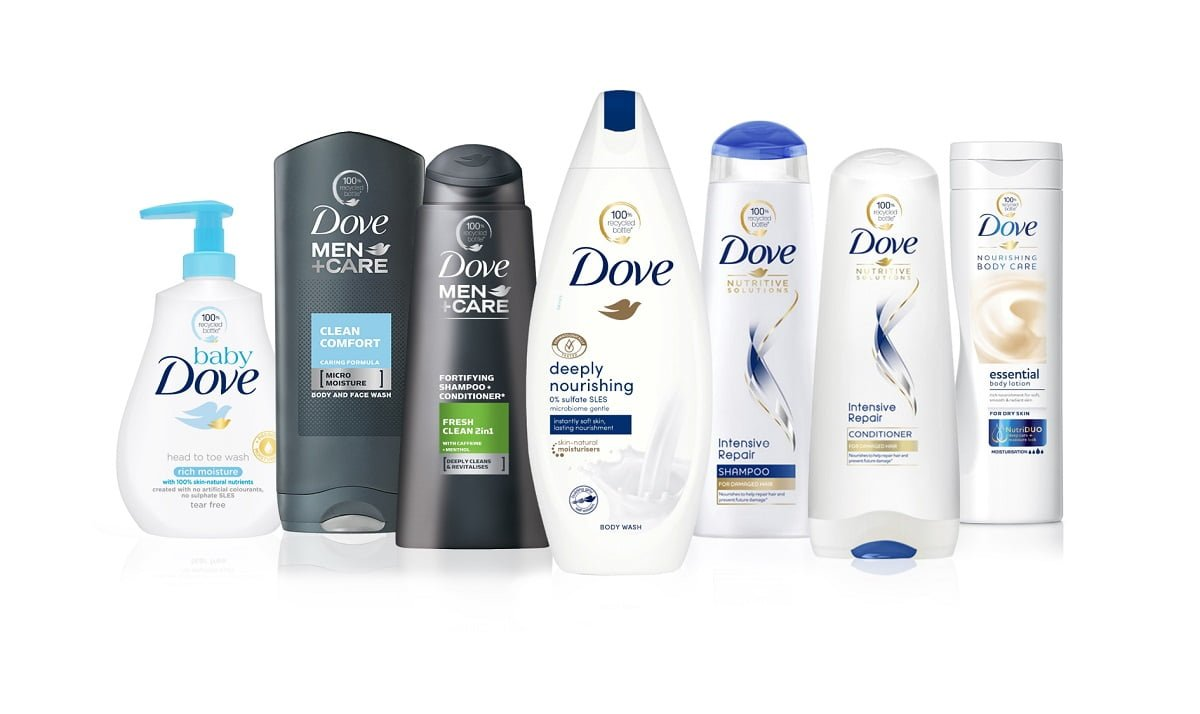 Dove 100% Plastic Reciclat