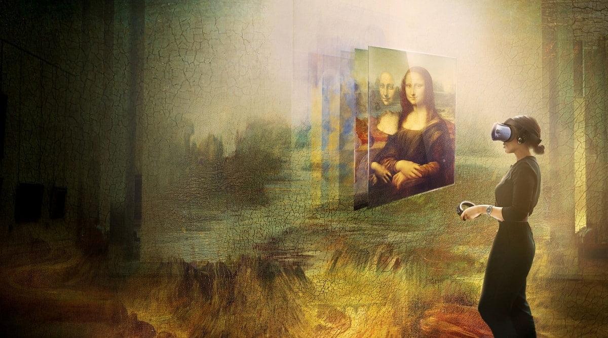 HTC VIVE Arts Muzeul Louvre