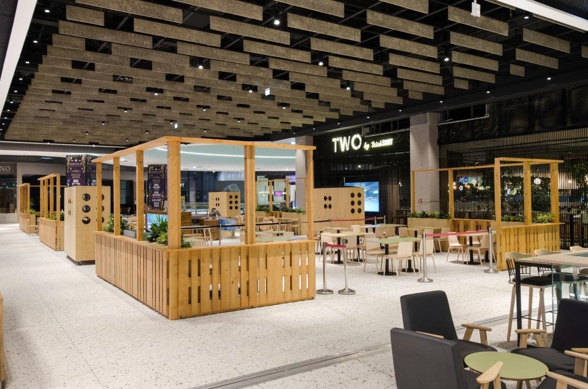 Food Court Mega Mall