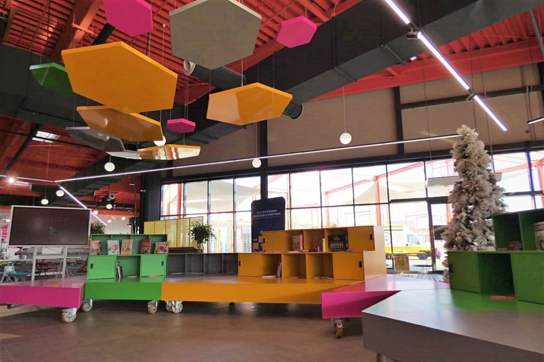 Cartier Hub Food Court Aushopping Satu Mare