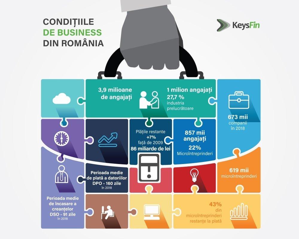 Infografic conditii business romania