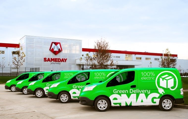 Green delivery eMAG