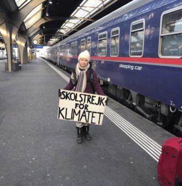 Greta Thunberg tren