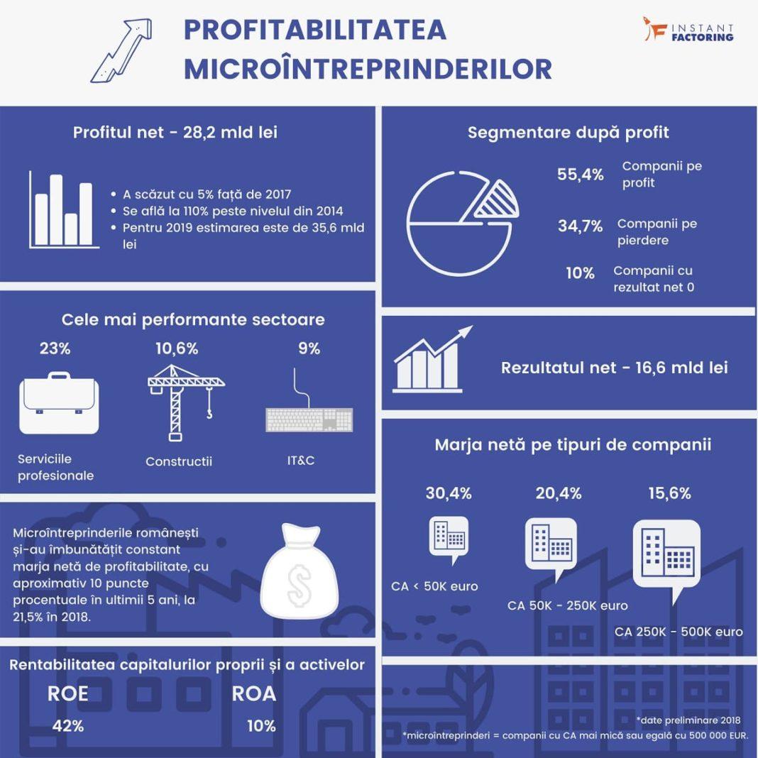 infografic profitabilitate