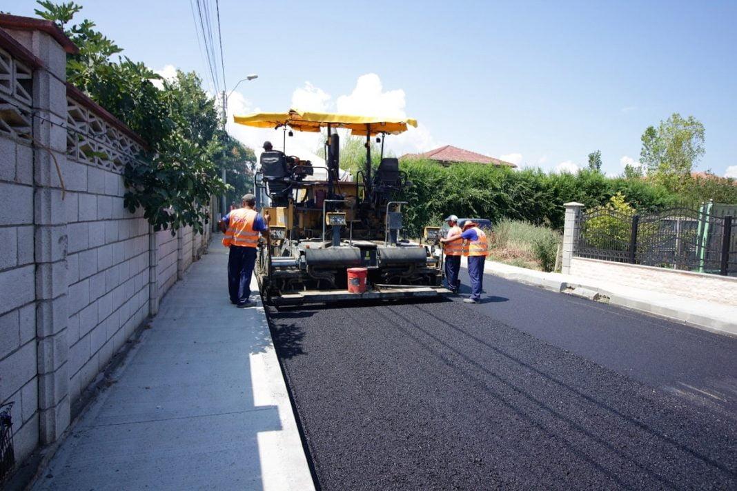 asfaltare strada
