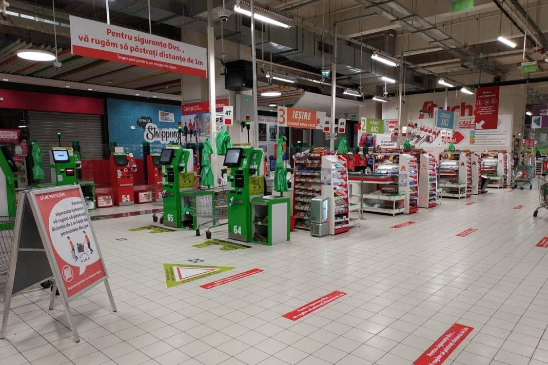 Auchan - signalistica distanta