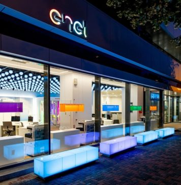 Enel concept store in Bucharest