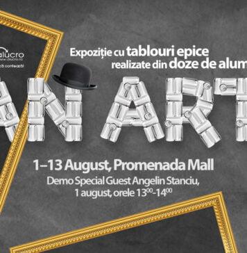 Can Art design Promenada Mall