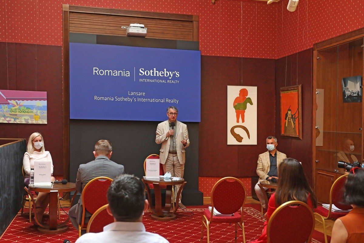 Conferință de presă Romania Sotheby's International Realty