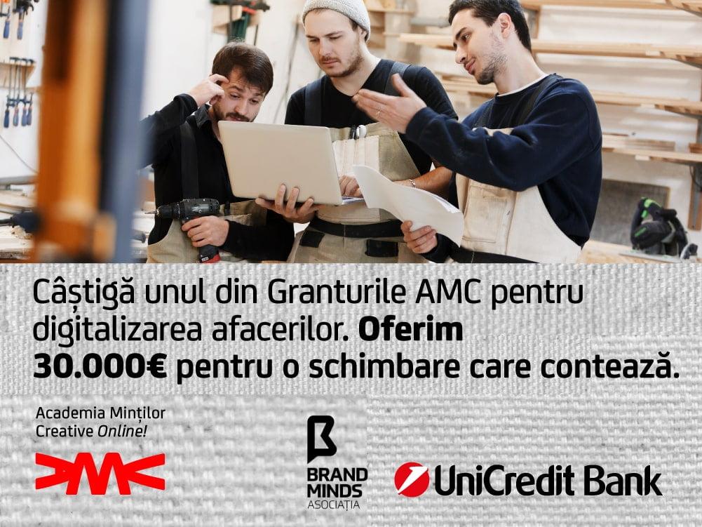 Granturile AMC digitalizarea afacerilor