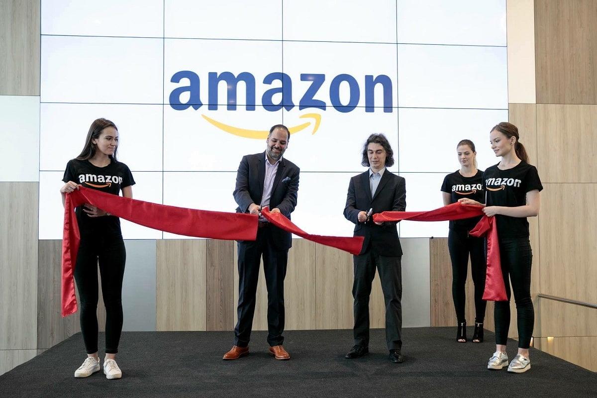 Inaugurare birouri Amazon in Globalworth Campus Bucuresti