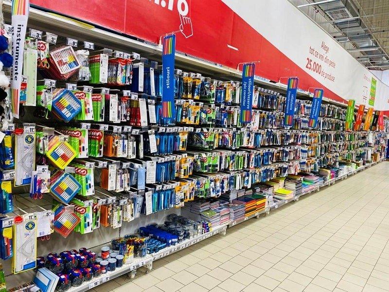 Articole scoala in magazinele Auchan