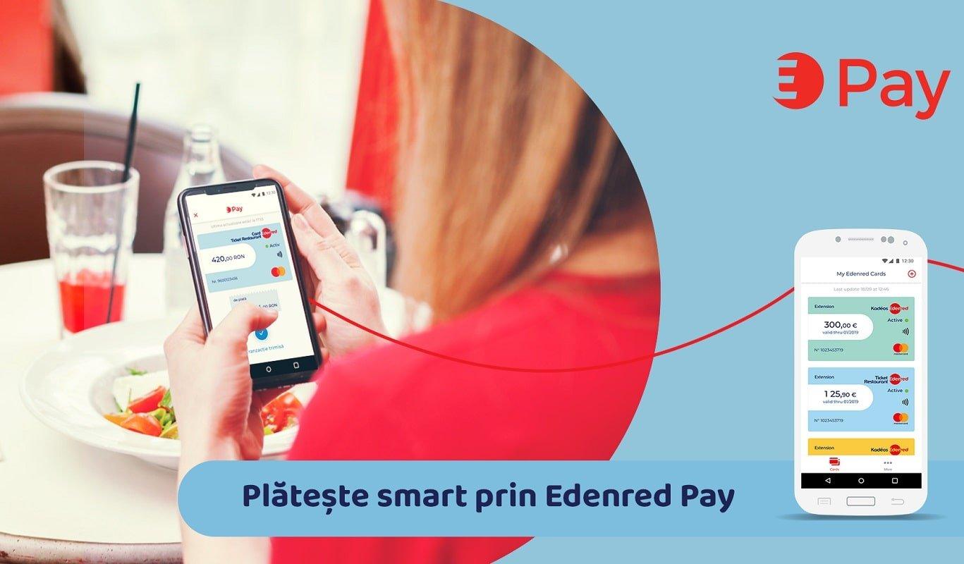 Edenred Pay solutie de plata mobila