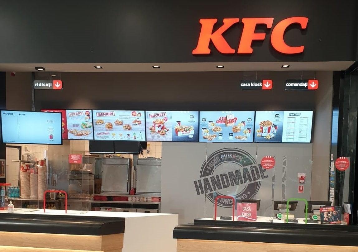 KFC Târgoviște Dâmbovița Mall