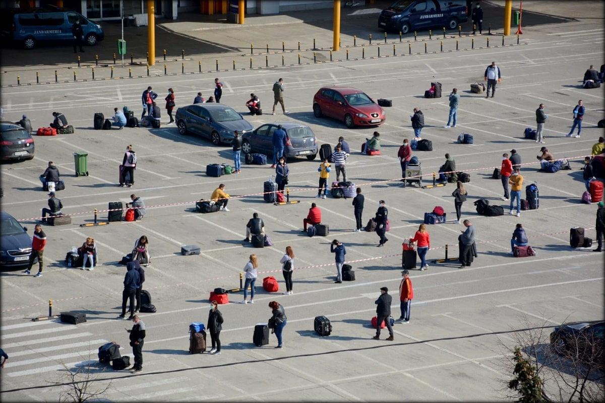 coada muncitori diaspora aeroport cluj