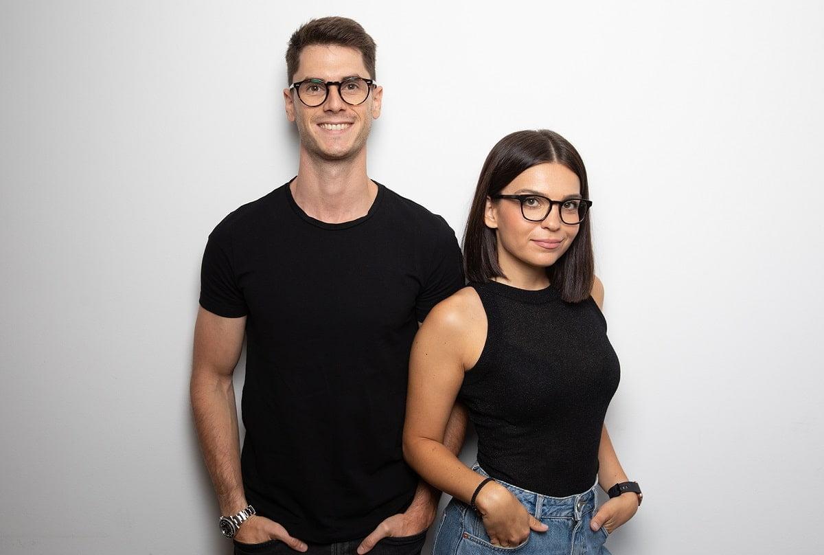 Andrei Negraru si Lisa Popovici fondatori Cartloop
