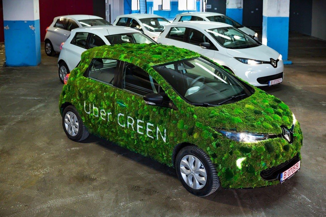 Flotă Uber Green