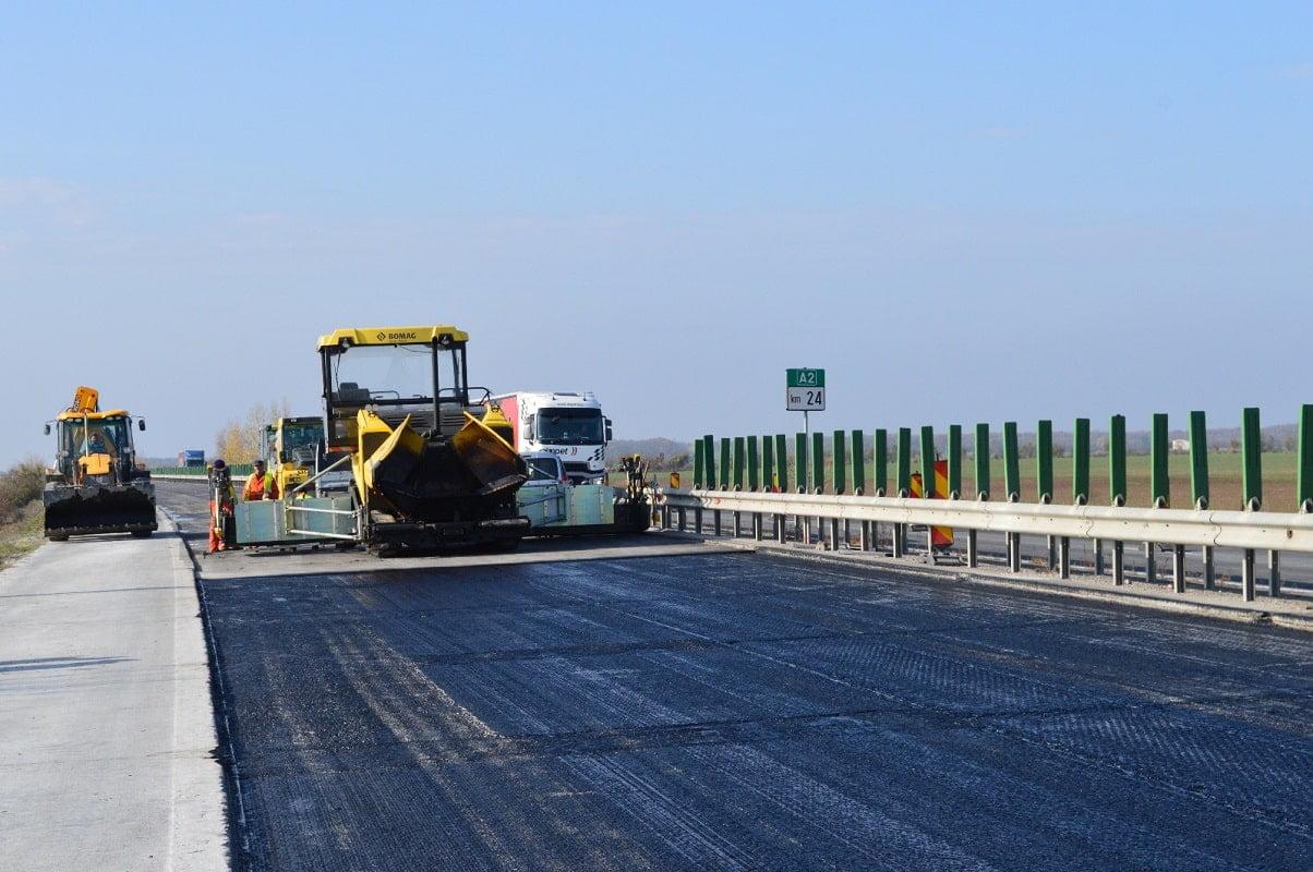 Lucrari Autostrada Soarelui A2