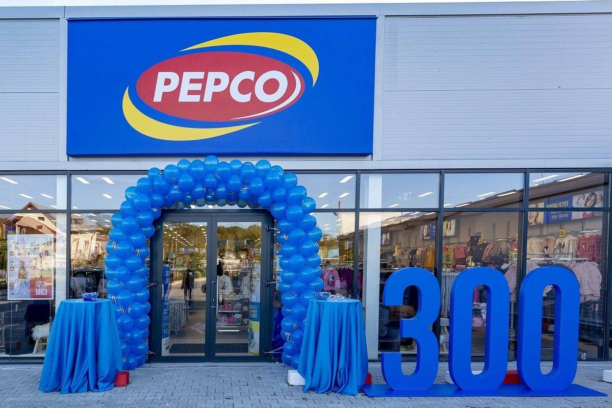 Magazinul Pepco 300 Bascov