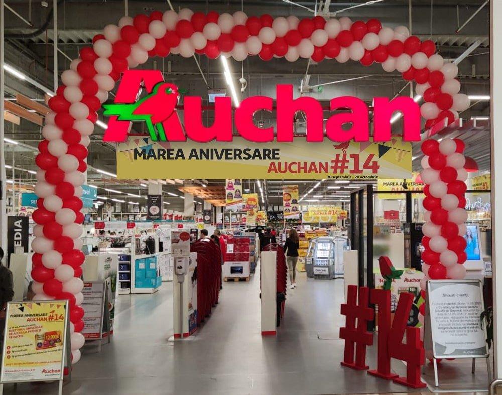 Aniversare Auchan Romania 14 ani